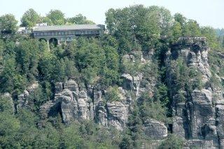 Blick zur Bastei