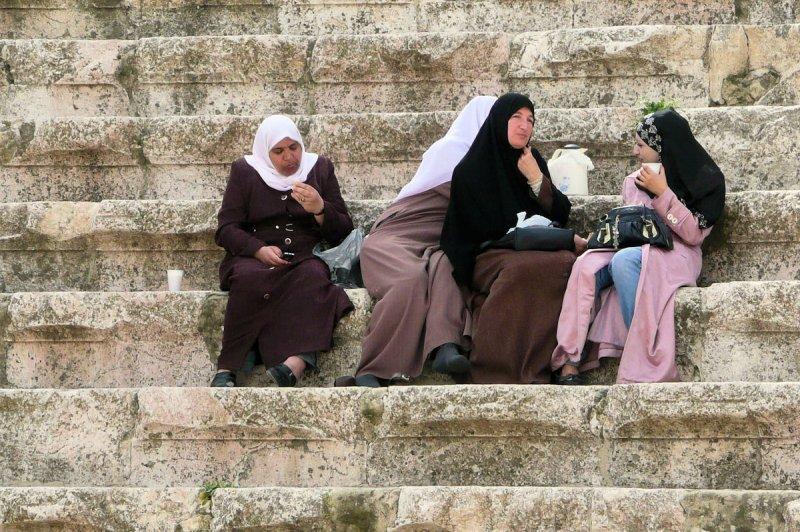 Pause im Römischen Theater
