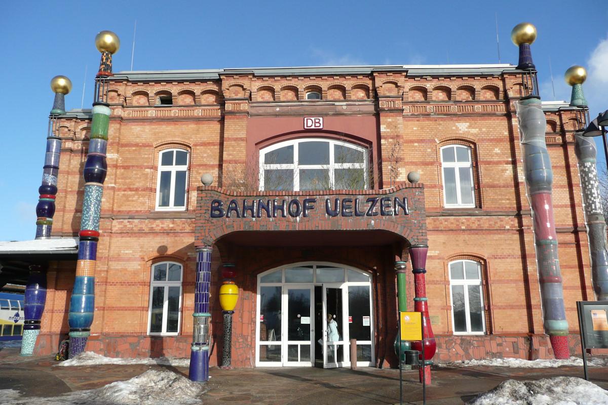 Bahnhofsgebäude Uelzen