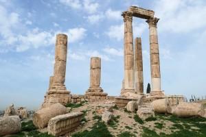 Zitadelle in Amman (Herkules Tempel)