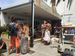 Hippiemarkt San Juan auf Ibiza